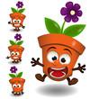Pot de fleur - Mascotte - 257050606