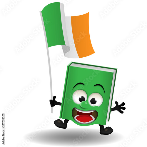 Livre drapeau irlandais © Bruno.Gilloots