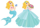 Cute Princess Mermaid