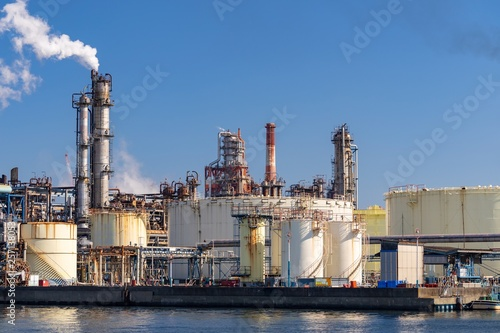 Chemical Factory plant © vichie81
