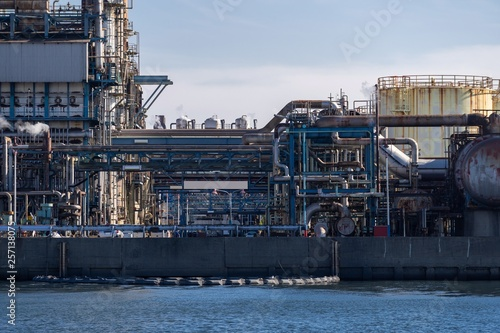 Oil petrochemical Factory © vichie81
