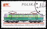 Polish electric locomotive, 1969, History Of The Locomotive serie, circa 1976