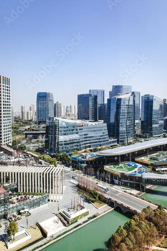 Prendre de la hauteur dans Nouveau Suzhou - Chine  © lorabarra
