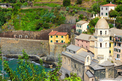 village Vernazza, Cinque Terre, Liguria