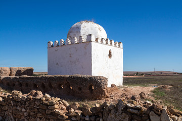 Landscape with a chapel/mosque, Morocco