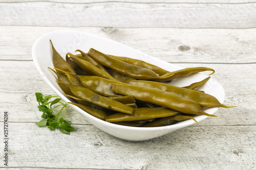 Pickled green bean