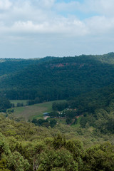 Glenworth Valley scenery from the lookout. NSW, Australia. © AlexandraDaryl