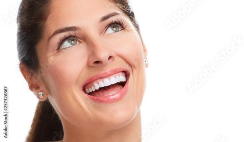 Beautiful woman smile. © Kurhan