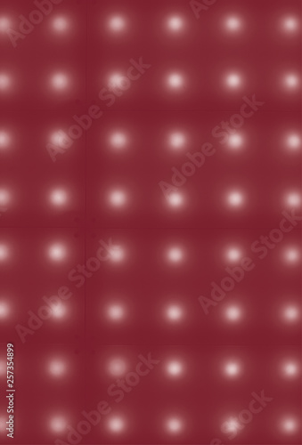 Red duotone dot background - 257354899