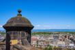 Leinwanddruck Bild - Blick auf Edinburgh/Schottland