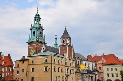 Wawel Royal Castle Cathedral in Krakow, Poland