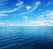 Quadro Blue sea water