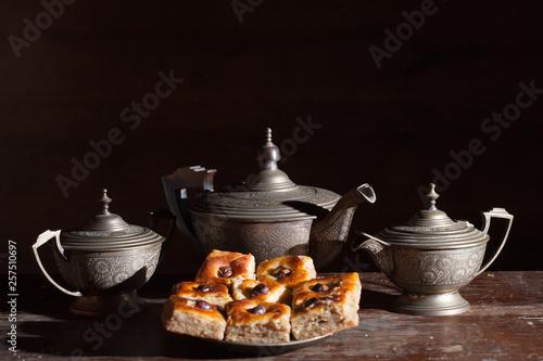 Tea service and East sweets © AlfaA