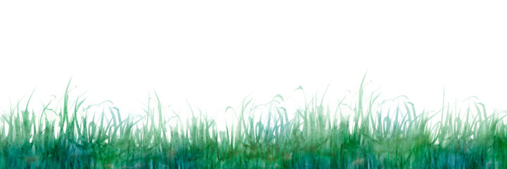 草原 植物 背景 水彩 緑 © tada