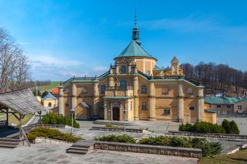 Basilica in Wambierzyce, Sanctuary in Wambierzyce, baroque pilgrimage basilica, Poland, Lower Silesia