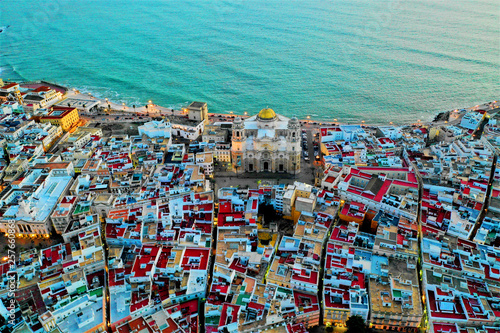 Cadiz aus der Luft - Luftbilder von Cadiz in Spanien. Aufgenommen mit der DJI Mavic 2 Drohne © Roman