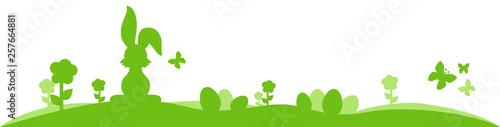 Osterwiese Hintergrund Element Design - 257664881