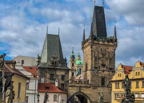 fototapeta na ścianę Prague - travel destination
