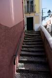 Fototapeta Fototapety na drzwi - staircase in an old street © Carolina