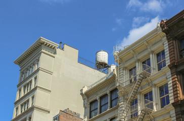 SOHO rooftops