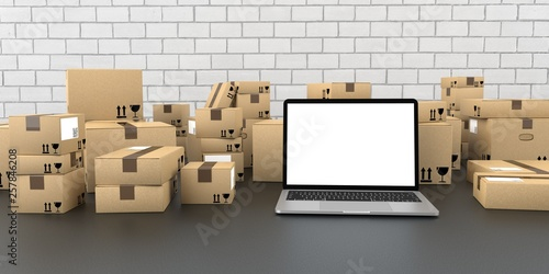 Notebook Shipping Cartons © Alexander Limbach