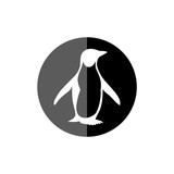 Penguin Logo Icon Illustration