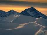 Krivan. Holy mountain of Slovaks at sunrise.