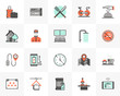Hotel Services Futuro Next Icons Pack - 257863625