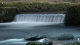 Waterfalls, rivers and streams in Devon taken at a slow shutter speed