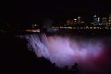Niagara Falls in City Night Lights