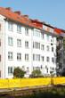 canvas print picture - Wohnhaus, Mehrfamilienhaus, Wohngebäude