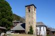 canvas print picture - Reformierte Kirche, Adelboden, Berneroberland, Schweiz