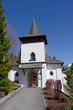 canvas print picture - Katholische Kirche, Adelboden, Berneroberland, Scheiz