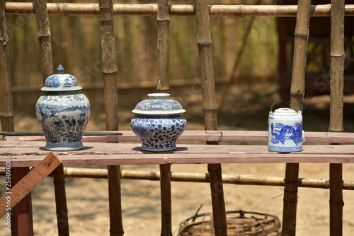 Terracotta clay pottery Thailand is a high class pottery © tharathip