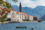 Amazing view of town of Perast at Bay of Kotor.Montenegro