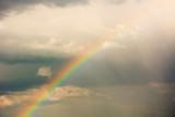 Fototapeta Rainbow - Tęcza po deszczu © Heroc