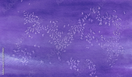 fototapeta na ścianę Abstract purple gradient watercolor background