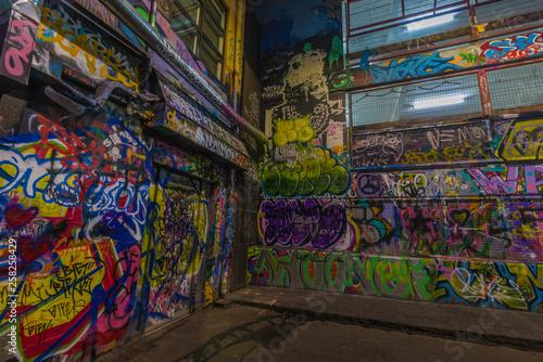 Grafiti in Melbourne - 258258429