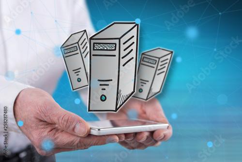 Concept of desktop computer © thodonal