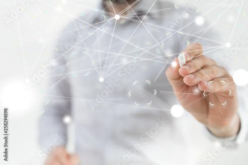 Leinwandbild Motiv Technologie