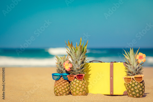 Summer Vacation Travel Adventure Concept - 258350415