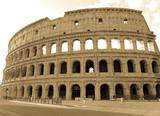 Coliseo, Roma, Italia, Antigua, Vitage