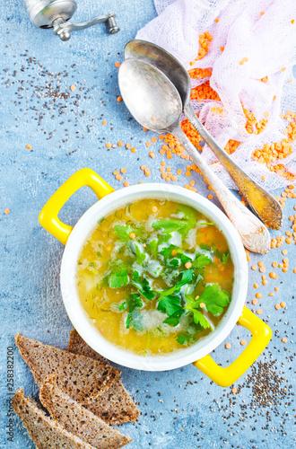 lentil soup - 258382200