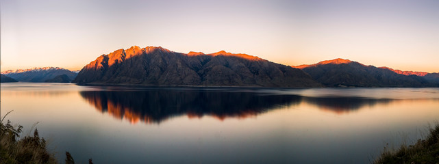 Lake Hawea, Otago Region of New Zealand