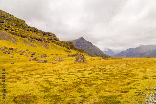 Typical amazing landscape of Iceland island, Europe - 258554431