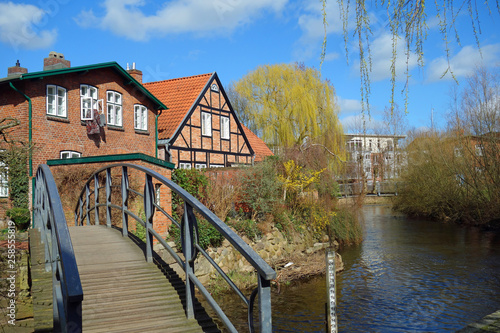 canvas print picture bad oldesloe an der trave