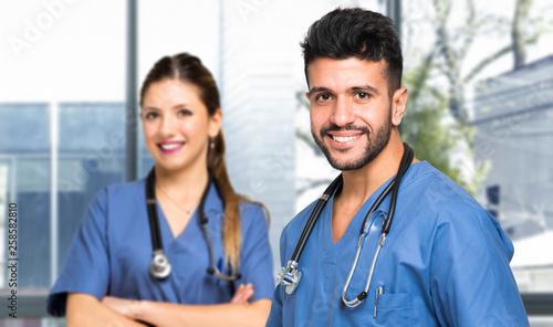 Couple of doctors © Minerva Studio