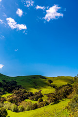 Green Hills of Spring and Sky © Mark