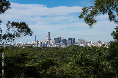 canvas print picture Brisbane in Green