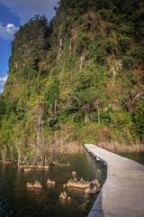 landscape Mountain  in Krabi Thailand © meen_na